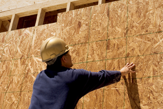 Roof wall sheathing weyerhaeuser for Fiberboard roof sheathing