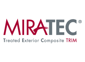 MiraTEC Treated Exterior Composite Trim