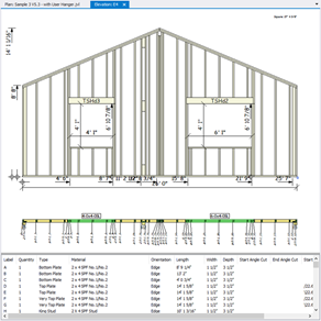 Javelin software weyerhaeuser for Garage plan software