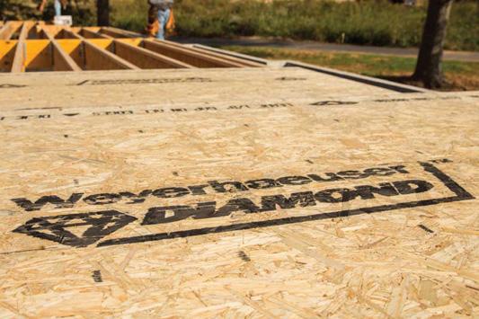 High Performance Weyerhaeuser Diamond™ Subfloor Panel