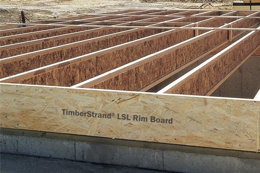 Timberstrand 174 Lsl Rim Board Weyerhaeuser