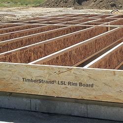 Laminated Strand Lumber Lsl