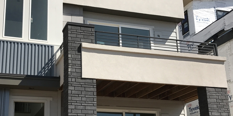 how to enclose a balcony Moisture Protection For Wood Framed Balconies Decks And