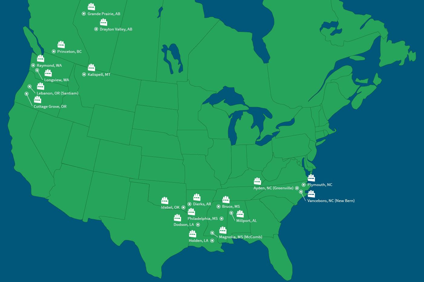 U S Plywood Corporation Locations ~ Lumber weyerhaeuser